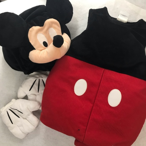 disney costumes mickey mouse costume toddler 3t poshmark mickey mouse costume toddler 3t disney